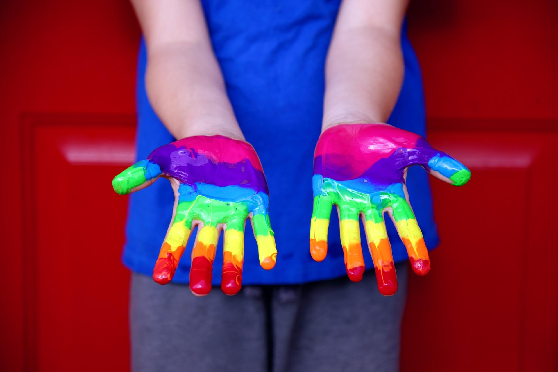 Human Rights Equality Rainbow Lgbt Human Diversity